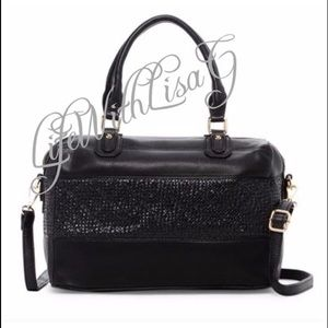 Handbags - New two toned material - satchel bag